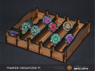 Organizer for markers mini