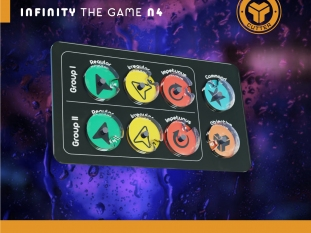 Order counter for Infinity the game N4 (Large)