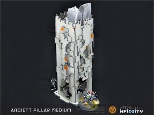 The remains of an ancient civilization. Medium pillar