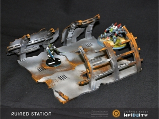Destroyed Station. Small pieces