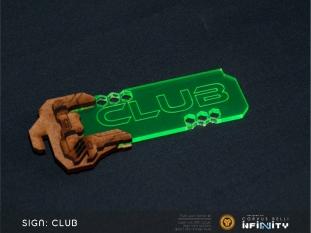 Signboard CLUB