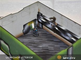 Workshop Beveled Roof