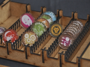 Organizer for Malifaux token