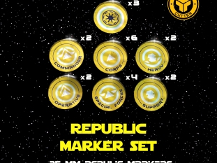 Star Wars Republic (tokens)