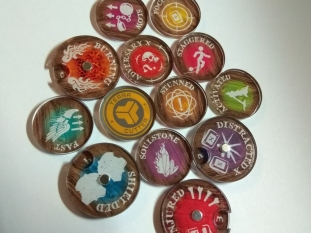 Malifaux Token Assortment