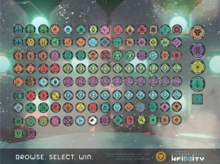 Markers for Infinity the game